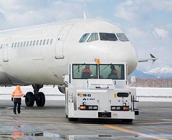 Towing/push-back of aircraft
