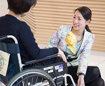 Free rental of wheelchairs/strollers